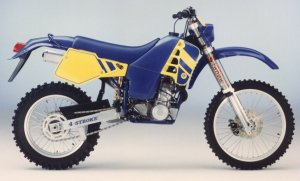 The First Husaberg - Grandma